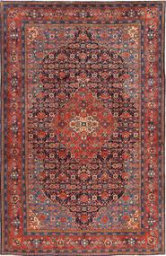 Mahal Matto 228X350 Itämainen Käsinsolmittu Tummanpunainen/Tummanharmaa (Villa, Persia/Iran)