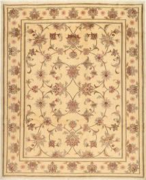 Yazd Matto 200X245 Itämainen Käsinsolmittu Vaaleanruskea/Tummanbeige (Villa, Persia/Iran)