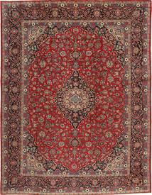 Keshan Matto 293X385 Itämainen Käsinsolmittu Tummanpunainen/Tummanruskea Isot (Villa, Persia/Iran)