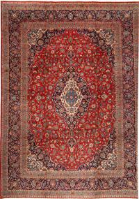 Keshan Matto 355X480 Itämainen Käsinsolmittu Tummanpunainen/Tummanruskea Isot (Villa, Persia/Iran)