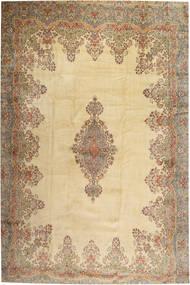 Kerman Matto 405X605 Itämainen Käsinsolmittu Vaaleanruskea/Beige Isot (Villa, Persia/Iran)