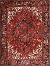 Heriz Matto 273X370 Itämainen Käsinsolmittu Tummanpunainen/Musta Isot (Villa, Persia/Iran)