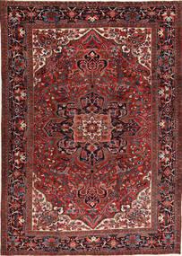 Heriz Matto 266X372 Itämainen Käsinsolmittu Tummanpunainen/Musta Isot (Villa, Persia/Iran)