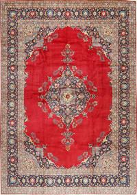 Keshan Matto 327X475 Itämainen Käsinsolmittu Punainen/Tummanpunainen Isot (Villa, Persia/Iran)