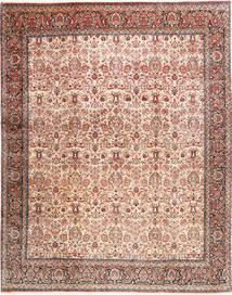 Bidjar Matto 305X380 Itämainen Käsinsolmittu Vaaleanruskea/Tummanpunainen/Beige Isot (Villa, Persia/Iran)