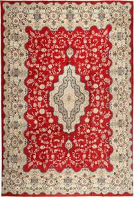 Keshan Matto 345X494 Itämainen Käsinsolmittu Ruoste/Vaaleanruskea Isot (Villa, Persia/Iran)