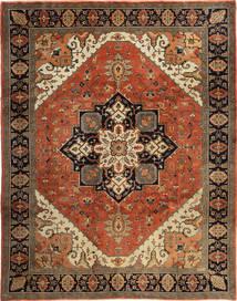 Heriz Matto 271X338 Itämainen Käsinsolmittu Tummanruskea/Ruskea Isot (Villa, Persia/Iran)