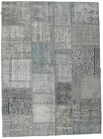 Patchwork Matto 171X230 Moderni Käsinsolmittu Vaaleanvihreä/Tummanvihreä (Villa, Turkki)
