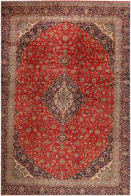 Keshan Matto 390X530 Itämainen Käsinsolmittu Tummanruskea/Ruoste Isot (Villa, Persia/Iran)