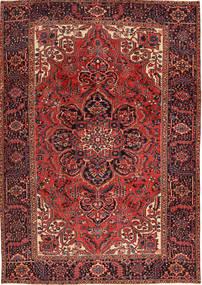 Heriz Matto 231X333 Itämainen Käsinsolmittu Tummanpunainen/Tummanruskea (Villa, Persia/Iran)