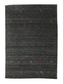 Gabbeh Loom Two Lines - Medium Harmaa Matto 160X230 Moderni Tummanharmaa/Tummanvihreä (Villa, Intia)