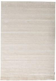 Bamboo Silkki Loom - Beige Matto 160X230 Moderni Vaaleanharmaa ( Intia)