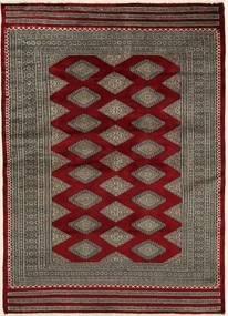 Pakistan Bokhara 3Ply Matto 136X196 Itämainen Käsinsolmittu Tummanpunainen/Tummanharmaa (Villa, Pakistan)