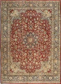 Kerman Patina Matto 287X405 Itämainen Käsinsolmittu Vaaleanruskea/Tummanpunainen Isot (Villa, Persia/Iran)