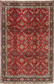 Koliai Matto 208X321 Itämainen Käsinsolmittu Tummanpunainen/Tummanruskea (Villa, Persia/Iran)