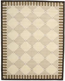 Himalaya Matto 247X308 Moderni Käsinsolmittu Beige/Tummanbeige (Villa/Bambu Silkki, Intia)