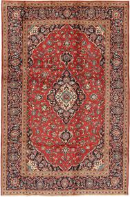 Keshan Matto 195X295 Itämainen Käsinsolmittu Tummanpunainen/Tummanruskea (Villa, Persia/Iran)