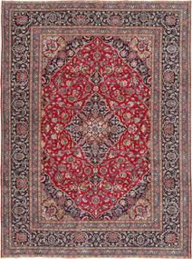 Kashmar Patina Matto 240X334 Itämainen Käsinsolmittu Tummanruskea/Vaaleanharmaa (Villa, Persia/Iran)
