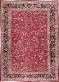Rashad Patina Allekirjoitettu: Baradaran Shiakh Matto 330X475 Itämainen Käsinsolmittu Tummanpunainen/Ruskea Isot (Villa, Persia/Iran)
