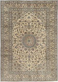 Keshan Patina Matto 242X350 Itämainen Käsinsolmittu Vaaleanharmaa/Vaaleanruskea (Villa, Persia/Iran)