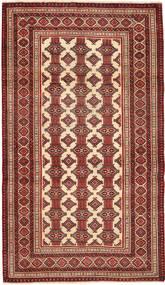 Turkaman Patina Matto 110X192 Itämainen Käsinsolmittu Tummanpunainen/Beige (Villa, Persia/Iran)