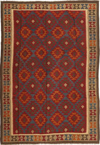 Kelim Maimane Matto 205X300 Itämainen Käsinkudottu (Villa, Afganistan)
