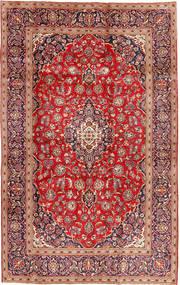 Keshan Matto 196X307 Itämainen Käsinsolmittu Tummanpunainen/Ruoste (Villa, Persia/Iran)