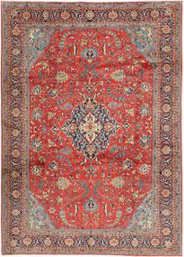 Sarough Matto 240X340 Itämainen Käsinsolmittu Ruoste/Vaaleanruskea (Villa, Persia/Iran)