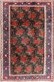 Afshar Matto 194X300 Itämainen Käsinsolmittu Tummanpunainen/Tummanvihreä (Villa, Persia/Iran)