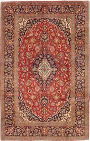Keshan Matto 192X306 Itämainen Käsinsolmittu Tummanpunainen/Vaaleanruskea (Villa, Persia/Iran)