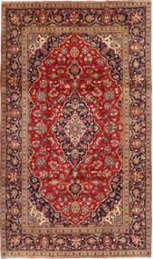 Keshan Matto 195X333 Itämainen Käsinsolmittu Tummanpunainen/Ruoste (Villa, Persia/Iran)