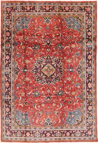 Sarough Matto 215X317 Itämainen Käsinsolmittu Tummanpunainen/Ruoste (Villa, Persia/Iran)
