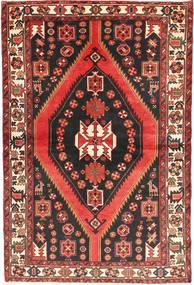 Bakhtiar Matto 147X220 Itämainen Käsinsolmittu Tummanruskea/Tummanpunainen (Villa, Persia/Iran)