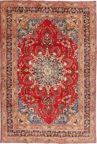 Mashad Matto 197X295 Itämainen Käsinsolmittu Ruoste/Tummanpunainen (Villa, Persia/Iran)