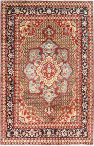 Koliai Matto 198X308 Itämainen Käsinsolmittu Tummanpunainen/Tummanruskea (Villa, Persia/Iran)
