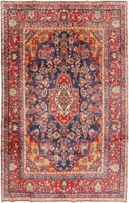 Mehraban Matto 208X328 Itämainen Käsinsolmittu Ruoste/Tummanpunainen (Villa, Persia/Iran)