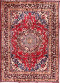 Mashad Matto 248X340 Itämainen Käsinsolmittu Tummanpunainen/Ruoste (Villa, Persia/Iran)