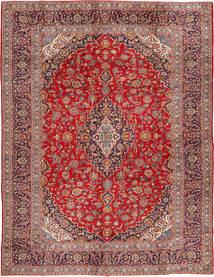 Keshan Matto 290X390 Itämainen Käsinsolmittu Tummanpunainen/Ruoste Isot (Villa, Persia/Iran)