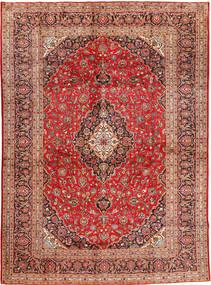 Keshan Matto 300X410 Itämainen Käsinsolmittu Tummanpunainen/Ruoste Isot (Villa, Persia/Iran)