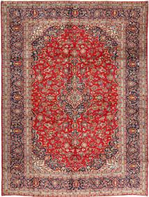 Keshan Matto 305X410 Itämainen Käsinsolmittu Tummanpunainen/Ruoste Isot (Villa, Persia/Iran)