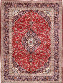 Keshan Matto 300X385 Itämainen Käsinsolmittu Ruskea/Tummanpunainen Isot (Villa, Persia/Iran)