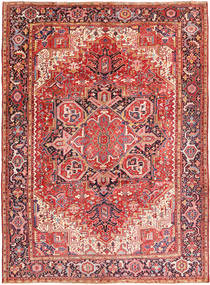 Heriz Matto 260X354 Itämainen Käsinsolmittu Ruoste/Tummanruskea Isot (Villa, Persia/Iran)
