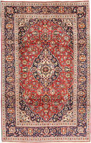 Keshan Matto 195X305 Itämainen Käsinsolmittu Ruskea/Beige (Villa, Persia/Iran)