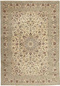 Keshan Matto 285X408 Itämainen Käsinsolmittu Vaaleanharmaa/Beige Isot (Villa, Persia/Iran)