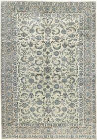 Keshan Matto 270X398 Itämainen Käsinsolmittu Vaaleanharmaa/Beige Isot (Villa, Persia/Iran)