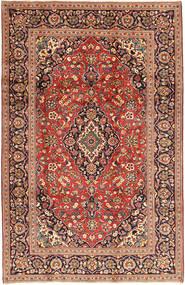Keshan Matto 198X310 Itämainen Käsinsolmittu Tummanpunainen/Tummanruskea (Villa, Persia/Iran)
