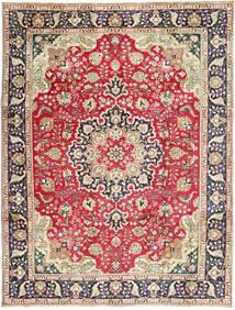 Tabriz Matto 245X337 Itämainen Käsinsolmittu Ruoste/Tummanharmaa (Villa, Persia/Iran)
