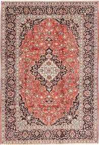 Keshan Matto 202X300 Itämainen Käsinsolmittu Vaaleanruskea/Tummanpunainen (Villa, Persia/Iran)