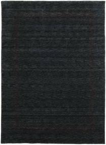 Handloom Gabba - Musta/Harmaa Matto 210X290 Moderni Musta (Villa, Intia)