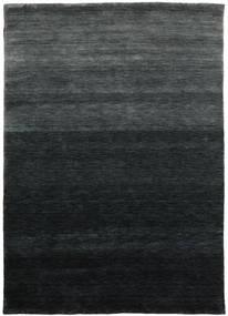 Gabbeh Up To Down Matto 160X230 Moderni Musta/Tummanvihreä (Villa, Intia)